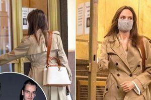 Angelina Jolie đến nhà chồng cũ Jonny Lee Miller, nghi vấn tái hợp