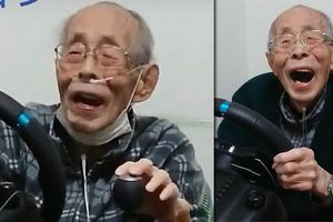Cụ ông 93 tuổi trở thành 'tay đua cự phách' triệu người theo dõi