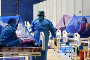 Ấn Độ ghi nhận dưới 100.000 ca mắc COVID-19 trong ngày thứ 6 liên tiếp