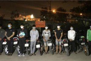 Bắt nhóm thanh, thiếu niên tổ chức đua xe trái phép tại Đồng Nai