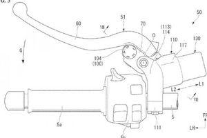 Honda nộp bằng sáng chế côn tay điện tử cho xe mô tô