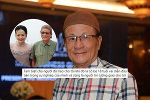 Diễn viên Hồng Ánh xót xa khi nghe tin NSƯT Cung Bắc qua đời: 'Cảm ơn chú đã cho cháu vai diễn ở tuổi 18'