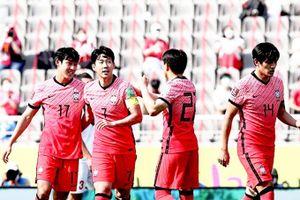 Vòng loại World Cup khu vực châu Á: Hàn quốc giúp đội tuyển Việt Nam hưởng lợi