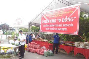 'Phiên chợ 0 đồng' nghĩa tình tại xã Tân Thạnh Đông, huyện Củ Chi