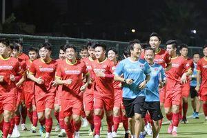 Tuyển Việt Nam xây dựng chiến thuật trước trận đấu thiếu HLV Park Hang-seo
