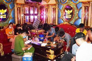 Quảng Nam: 11 đối tượng sử dụng ma túy trong quán karaoke