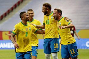 Brazil vùi dập Venezuela mất 8 cầu thủ do COVID-19