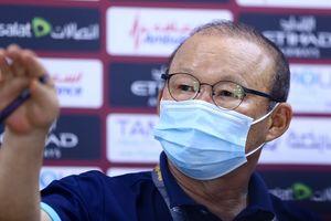 HLV Park Hang-seo: 'Việt Nam không đá để hòa UAE'