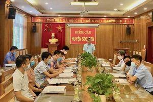 Huyện Sóc Sơn tập huấn trực tuyến công tác phòng, chống thiên tai năm 2021