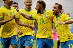 Mở màn Copa America, chủ nhà Brazil vùi dập Venezuela