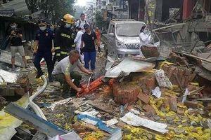 Nổ kinh hoàng ở Trung Quốc, hàng trăm người thương vong