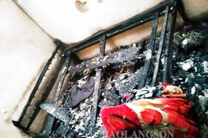 Đốt can xăng, bé trai 7 tuổi ở Lạng Sơn tử vong