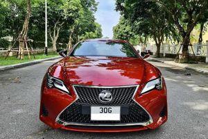 Cận cảnh Lexus RC 300 'chạy lướt' hơn 2,9 tỷ ở Hà Nội