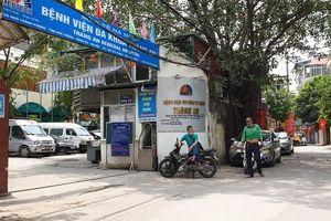 Bệnh viện đa khoa Tràng An tồn tại trái phép giữa trung tâm Hà Nội