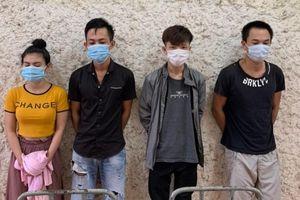 Quảng Bình: Bắt giữ 4 đối tượng tàng trữ trái phép chất ma túy