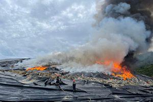 Xác định nguyên nhân vụ cháy bãi rác lớn nhất Đà Nẵng