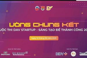 Chung kết DAV Startup 2021 mùa đầu tiên: Chiến thắng 'gọi tên' đội thi phát triển ý tưởng chia sẻ tri thức