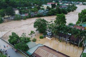 Nhiều nhà sập, sụt lún do mưa lớn ở miền núi Nghệ An