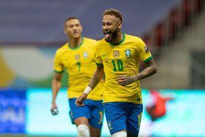 Neymar chói sáng, Brazil thắng to trận ra quân Copa America