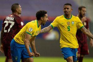 Video bàn thắng Brazil 3-0 Venezuela