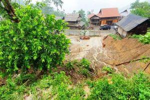 Mưa lớn nứt đồi, nhiều hộ dân huyện biên giới Nghệ An phải di dời khẩn cấp