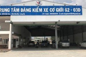 Xác nhận đạt chuẩn cho xe tải cơi nới thùng, nhân viên đăng kiểm bị xử phạt