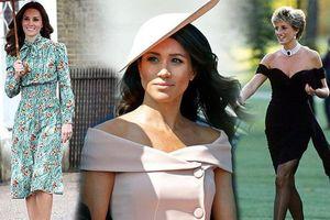 Khoảnh khắc thời trang bí ẩn của hoàng gia Anh, thâm thúy nhất là 'chiếc váy báo thù'
