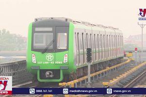 Đủ điều kiện an toàn khai thác tuyến đường sắt Cát Linh-Hà Đông