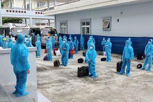Tuyên Quang đón 231 công nhân từ tâm dịch Bắc Giang