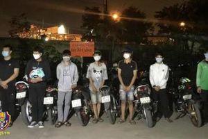 Đồng Nai: Vây bắt nhóm thanh thiếu niên tụ tập đua xe trái phép, tạm giữ 9 xe máy