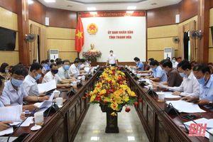 Phó Chủ tịch UBND tỉnh Mai Xuân Liêm nghe báo cáo Đề án Chuyển đổi số tỉnh Thanh Hóa giai đoạn 2021-2025, định hướng đến năm 2030