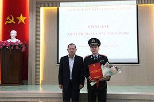 Ông Trương Thanh Phong giữ chức vụ Phó Chánh Thanh tra tỉnh Khánh Hòa