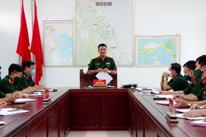 Kiểm tra toàn diện việc thực hiện nhiệm vụ quân sự, quốc phòng 6 tháng đầu năm 2021