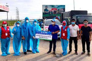 Bắc Giang: Đội Chữ thập đỏ xung kích huyện Việt Yên trên tuyến đầu chống dịch Covid-19