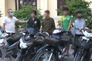 5 thiếu niên 'đá xế' lấy phương tiện đi trộm cắp
