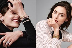 Tiffany & Co. tôn vinh sức mạnh trong chiến dịch ra mắt BST Tiffany T vô cùng cá tính