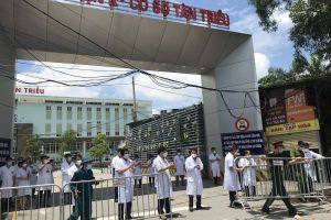 Trưa ngày 14/6, Bệnh viện K kết thúc cách ly phòng chống dịch COVID-19
