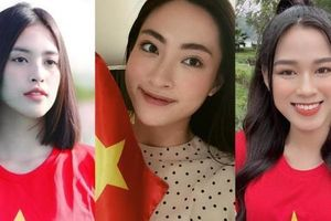 Hoa hậu Đỗ Thị Hà, Tiểu Vy, Lương Thùy Linh dự đoán tỉ số trận đấu của đội tuyển Việt Nam