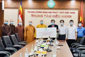 Giáo hội Phật giáo Việt Nam trao tặng Nepal 2.000 bộ kit thử COVID-19