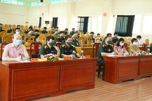 Hội thi báo cáo viên giỏi lực lượng vũ trang tỉnh Quảng Ninh năm 2021