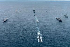Hải quân Nga tập trận quy mô lớn ở Thái Bình Dương