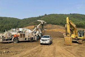 Cao tốc Bắc - Nam đoạn qua Khánh Hòa thiếu vật liệu san lấp