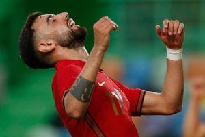 Tuyển Bồ Đào Nha mạnh hơn với Bruno Fernandes