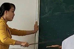 Cô giáo xin lỗi vì đánh học sinh