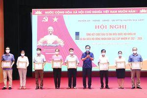 Gia Lâm: Cuộc bầu cử đại biểu Quốc hội khóa XV và đại biểu HĐND các cấp thành công tốt đẹp