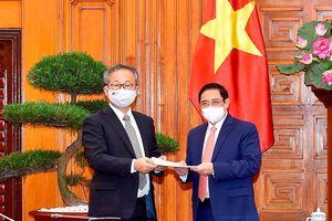 Nhật Bản hỗ trợ Việt Nam 1 triệu liều vaccine phòng Covid-19