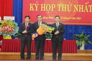 Bí thư Tỉnh ủy Quảng Nam tái đắc cử Chủ tịch Hội đồng nhân dân tỉnh