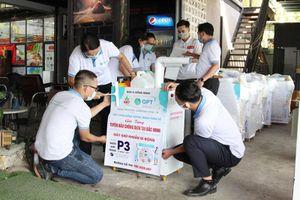 Đà Nẵng hỗ trợ Bắc Giang, Bắc Ninh 20 máy sát khuẩn