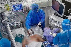 Thêm 2 bệnh nhân Covid-19 phải can thiệp ECMO, có 1 phụ nữ 37 tuổi