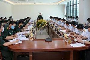 Thượng tướng Lê Huy Vịnh làm việc với Quân chủng Hải quân